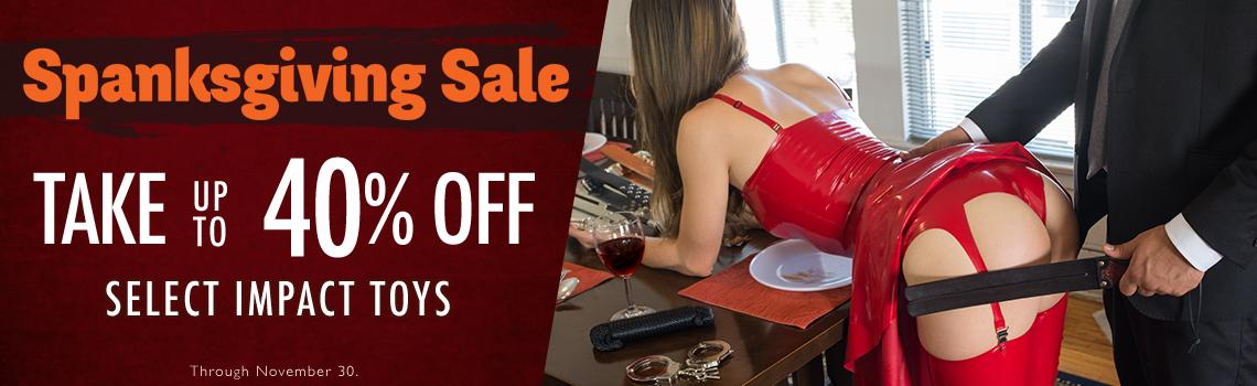 Stockroom Fetish and Bondage Sex Toy Black Friday Sale